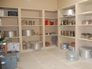 Fully equipped stores